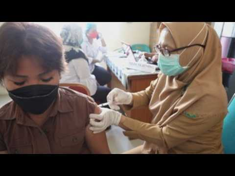 Indonesia speeds up COVID-19 vaccination drive across country to halt spread of virus