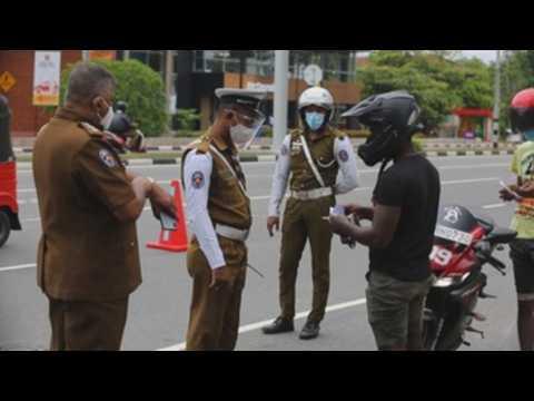 Sri Lanka imposes strict lockdown as COVID-19 cases surge