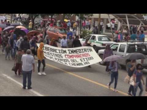 Judge denies release of 19 students imprisoned in Mexican state of Chiapas