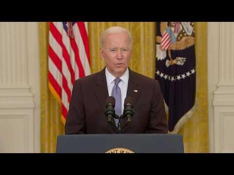 Joe Biden announces extra 20 million vaccine doses to be sent abroad