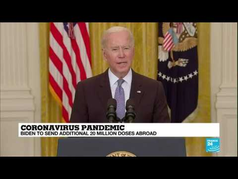 Biden announces extra 20 mln US vaccine doses for other countries