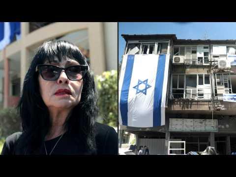Residents of Israel's Ramat Gan describe 'frightening experience' of rocket strikes