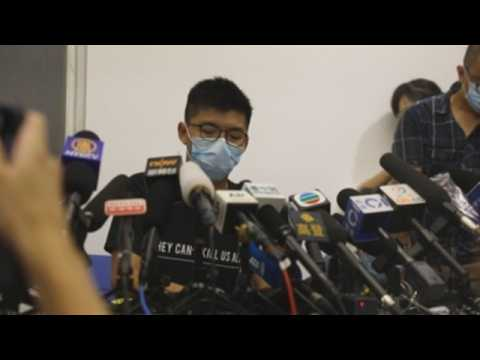 Hong Kong's Joshua Wong given 10-month sentence for Tiananmen vigil role
