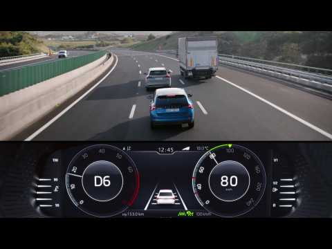 Skoda Connect - Adaptive Cruise Control (ACC)