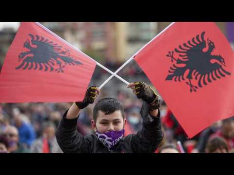 Albanian voters head to the polls after divisive election campaign
