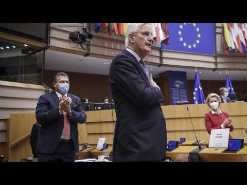 Barnier calls Brexit a 'failure of the EU' ahead of trade deal vote in European Parliament