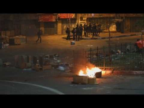 Palestinian protesters lead clashes against Israeli troops in Hebron