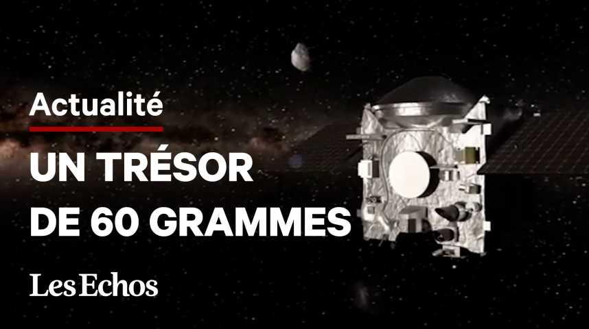 Illustration pour la vidéo La sonde Osiris-Rex rapporte de la poussière d'astéroïde sur Terre