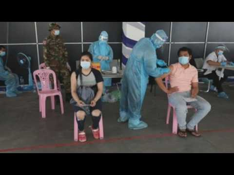 National vaccination campaign against Covid-19 launched in Cambodia