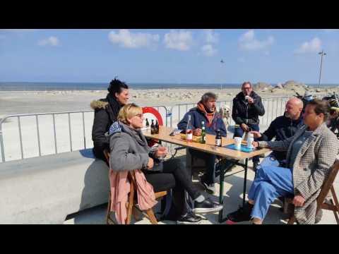 Ouvertures des terrasses à Middelkerke le 1er mai 2021