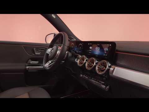 Mercedes-Benz EQB Interior Design Studio