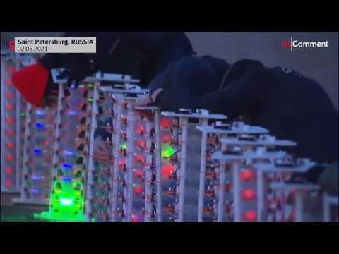 Saint Petersburg hosts International Drone Festival