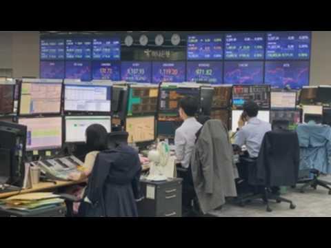 Seoul stocks fall 0.66% amid vaccine shortage