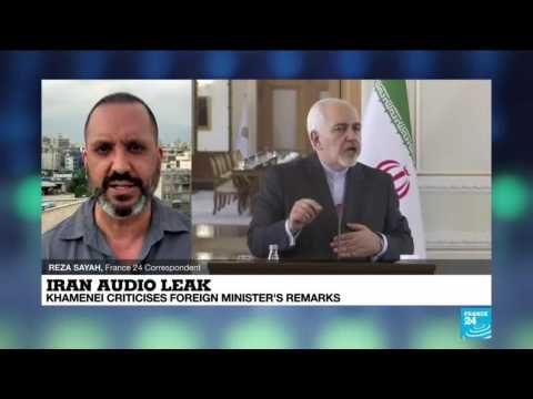 Iran audio leak: Khamenei criticises foreign minister's remarks