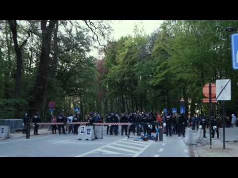 La Boum 2 au Bois de la Cambre: 60 arrestations