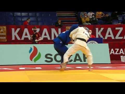 Honours shared in Kazan on final day of judo grand slam tour