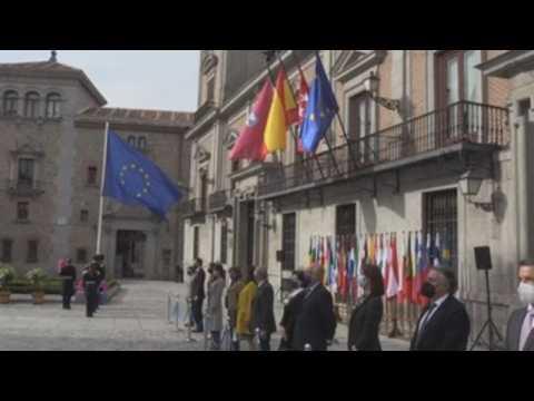 Madrid authorities celebrate Europe Day