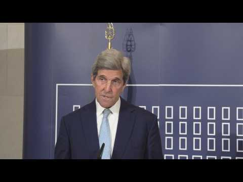 Kerry calls in Rome for urgent global action against the climate crisis
