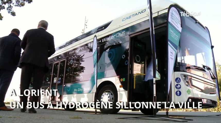 Thumbnail Lorient : un bus à hydrogène à l'essai