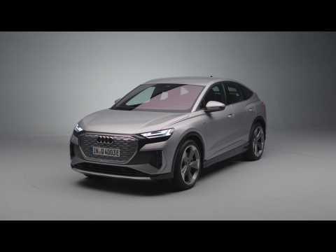 Audi Q4 Sportback e-tron Exterior Design in the studio