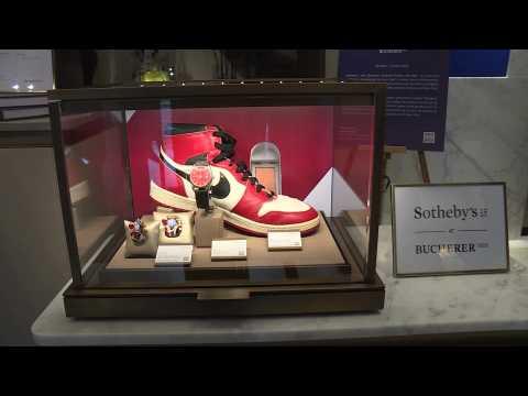 Michael Jordan's Air Jordans go under the hammer