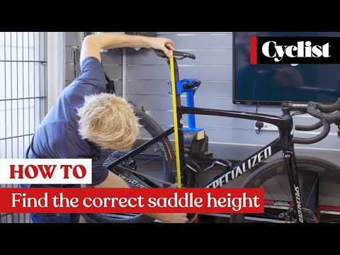 How to find the correct saddle height: Quick and easy methods you can do yourself at home