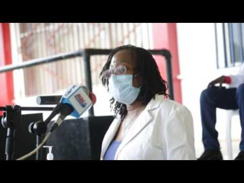 Additional doses of COVID-19 vaccine donated by US through COVAX arrive in Liberia