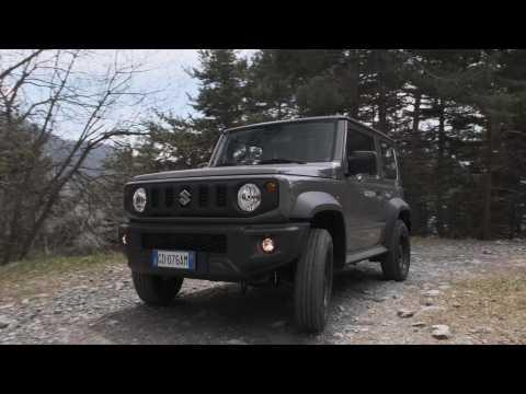 Suzuki Jimny Pro Driving Video