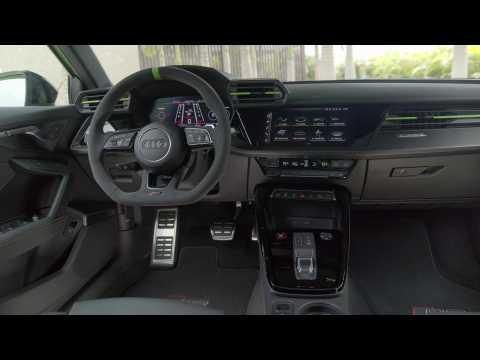 Audi RS 3 Sedan Interior Design