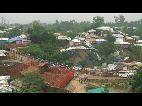 Bangladesh: Deadly monsoon rain hits Rohingya refugee camps