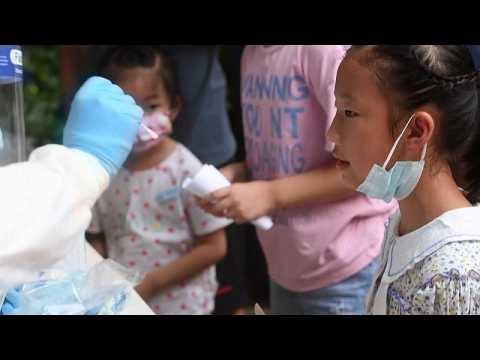 The Chinese city of Wuhan relaunches mass testing against covid19