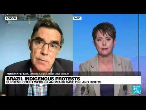 Brazil indigenous protests, supreme court weighs landmark case on land rights