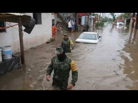 Floods devastate city in Mexico's Jalisco state