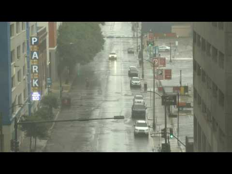 Heavy rain batters New Orleans as Ida strengthens to Category 4 hurricane