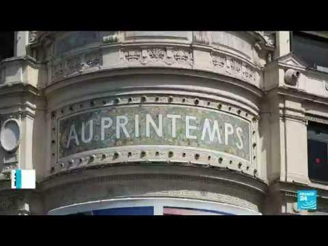 Paris' major department stores seek new customers