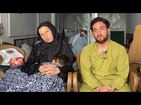 Sleeping rough in final days of pregnancy: Escaped Afghan couple tell Euronews their plight