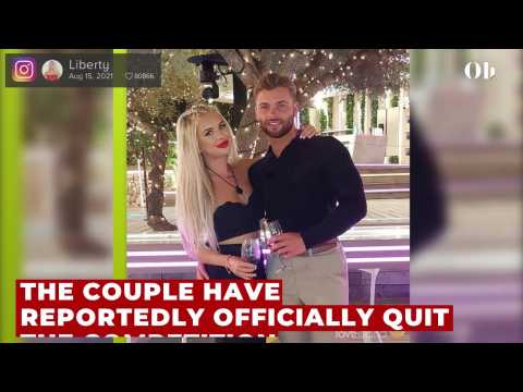 Love Island 2021: Jake and Liberty officially quit villa amid explosive meltdown