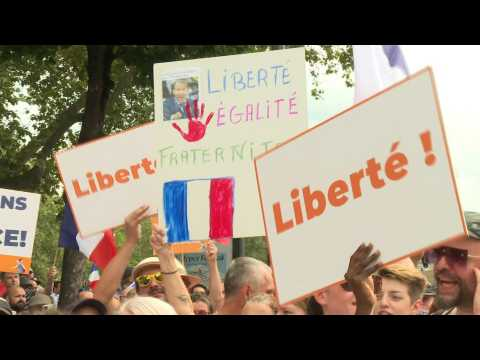France: new protest against health pass in Paris