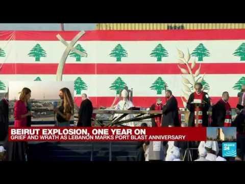 Beirut Explosion: Lebanese demand justice on port blast anniversary