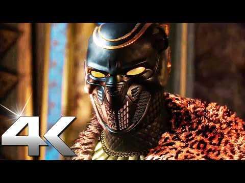 BLACK PANTHER: War for Wakanda Story Trailer (4K ULTRA HD) Marvel's Avengers
