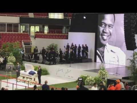 Dominican Republic bids farewell to late merengue legend Johnny Ventura