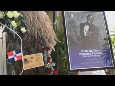 Dominican Republic honors late merengue legend Johnny Ventura