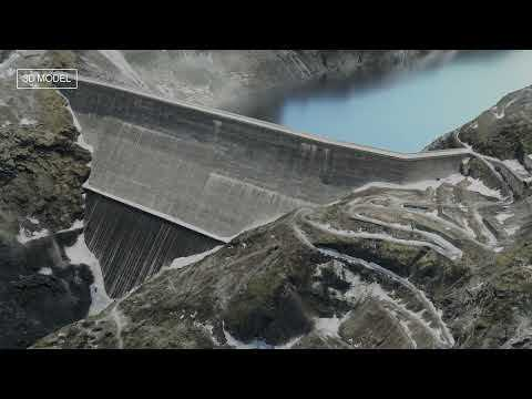 ANAFI Ai - 3D mapping of the tallest gravity dam in the world
