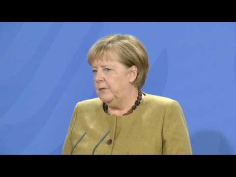 Germany's Merkel 'welcomes' additional EU funds