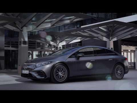 The new Mercedes-AMG EQS 53 4MATIC+ Exterior Design