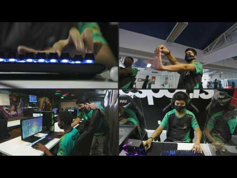 Brazil's favela gamers dream big