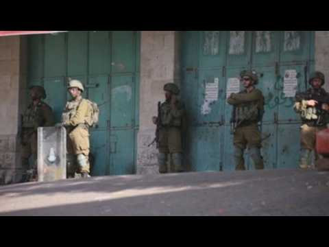 Clashes between Palestinian protesters, Israeli forces in Hebron