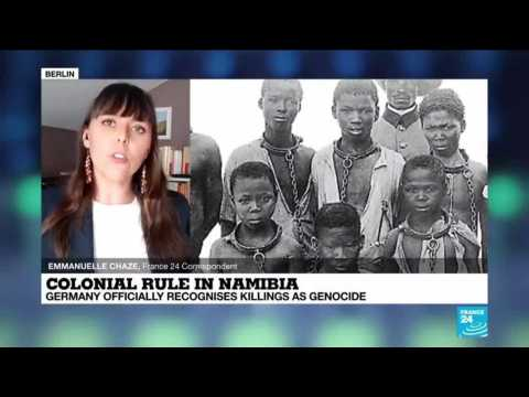 Germany recognizes colonial killings in Namibia as genocide