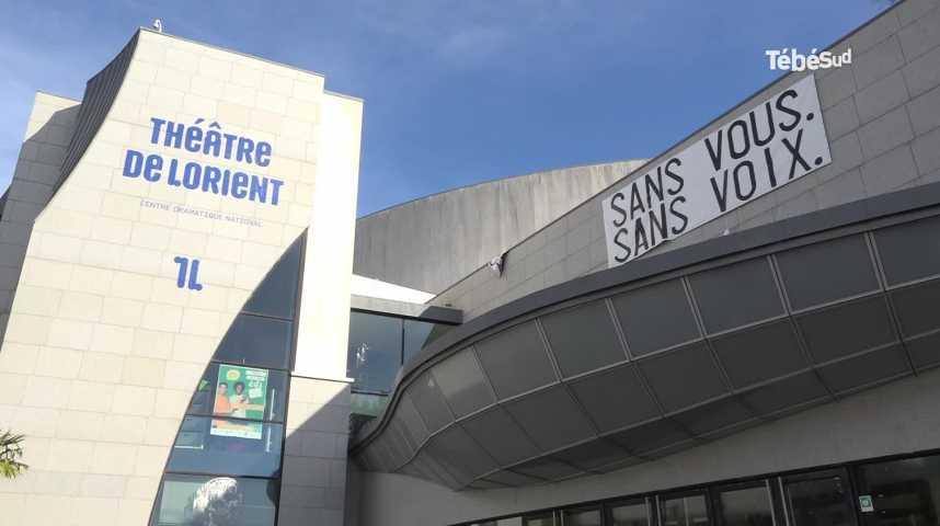 Thumbnail Théâtre de Lorient : les occupants délogés