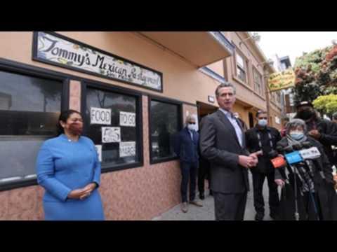 Gov. Newsom addresses support for restaurants, bars as California prepares to reopen
